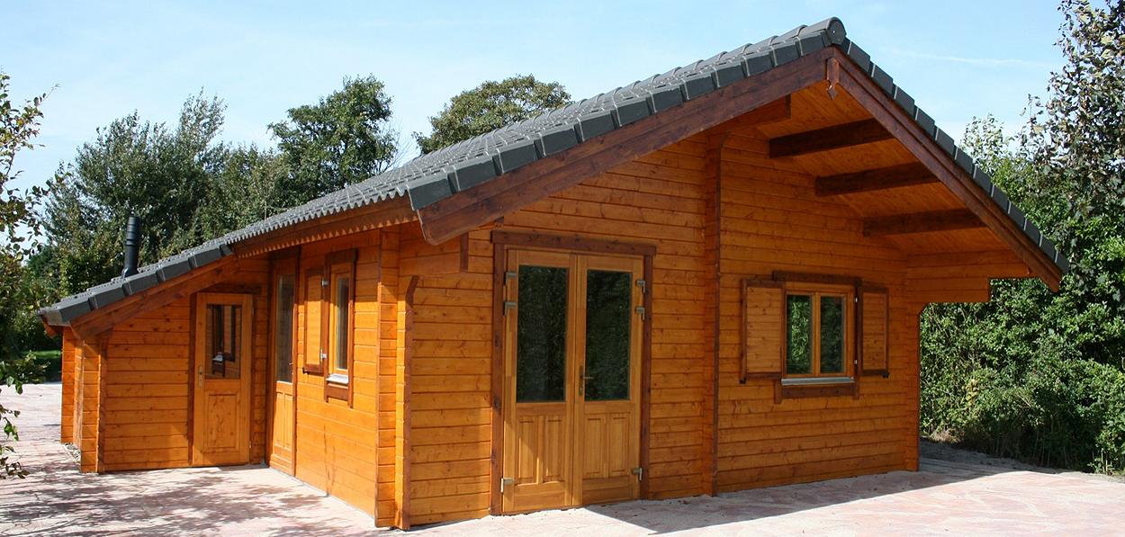 Blokhutten - Vakantiewoning - Camping Residence