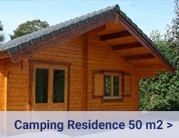 Kleijn Blokhutten - Camping Residence Vakantiewoning