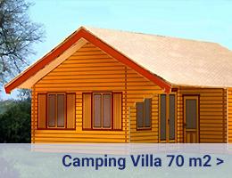 Kleijn Blokhutten - Camping Villa