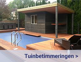 Kleijn Blokhuttten - Tuinbetimmeringen