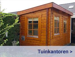 Kleijn Blokhuttten - Tuinkantoor - Tuinkantoren